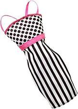Barbie Mini Fashion Dress Pack - Stripes & Dots Black & White - CFX70 - New