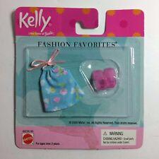 Kelly Fashion Favorites - Pink Shoes & Blue Shirt - Barbie Mattel #68230-95 NIB