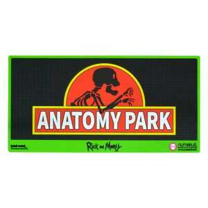 Rick and Morty Door Mat - Anatomy Park Rubber New