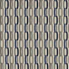 HBF Linkage Indigo Blue Sunbrella Upholstery Fabric Free Ship! Bty SF1248