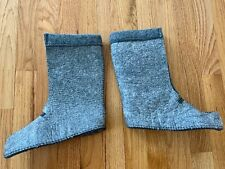 LL Bean Winter Boot Liners Gray Color Kids Size 3 NEW