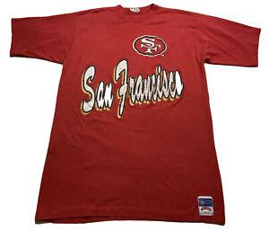 🔥Rare Vintage NUTMEG MILLS San Francisco 49ers 1990's T-Shirt One Size🔥