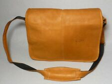 Columbia Made Leather Travel Collegiate Pack Computer Cross Body Messenger Bag