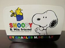 Vintage SNOOPY & His Friends Bento Sushi Lunch Box w/Trays PEANUTS 5 Pieces