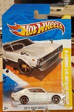 Hot Wheels * New Models * 73 Nissan SkyLine H/T 2000GT-R * Kenmeri *Pearl White*