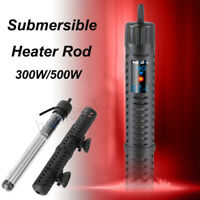 300W/500W Fish Tank LED Digital Submersible Marine Aquarium Water Heater Rod