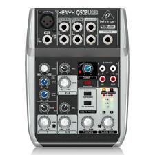 Behringer Xenyx Q502USB 5-Input 2-Bus Mixer Portable Mixer & USB Audio Interface