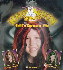 Halloween Bambino Rosso Strega parrucca per Halloween Accessori per Capelli