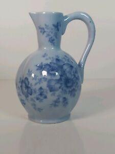 "Rare Light Blue Glazed Pitcher, Vase Appr. 7.5""/19cm Tall"