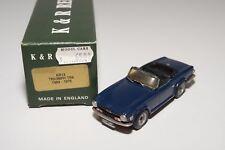 C K&R REPLICARS KR13 TRIUMPH TR6 1969-75 DARK BLUE N MINT BOXED HANDBUILD KIT