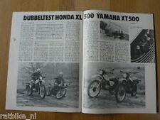 MV8104-HONDA XL500, YAMAHA XT500, MZ,WIL HARTOG,SUZUKI