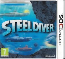 STEEL DIVER for Nintendo 3DS - with box & manual