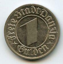 Dantzig République 1 Gulden 1932 KM.154