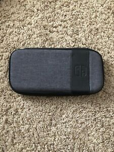 Gray Nintendo Switch or Switch Lite Travel Deluxe Case Slim -  PDP Elite Edition