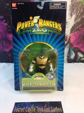 """Power Rangers ZEO 5"""" Gold Ranger Staff Whirling Factory Sealed 1995 MMPR"""