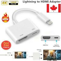 Lighting to HDMI Adapter Cable Digital AV Converter 1080P for Iphone /Ipad /Ipod