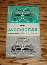 1956 Ford Passenger Car and Truck Accessories Sales Brochure 56
