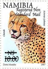 NAMIBIA 1997 DEFINITIVES OVERPRINTED 2005 SG1004 BLOCK OF 4 MNH