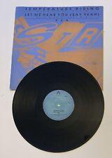 "P K A Temperature Rising Let Me Hear You Say Yeh 12"" vinyl 1991 FBI Records"