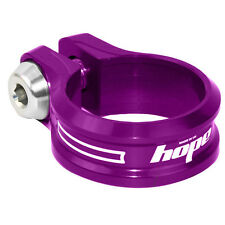 Hope Bolt On Seat Clamp 34.9mm Purple - Brand New