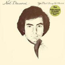 NEIL DIAMOND You Don't Bring Me Flowers NED Press CBS 86077 1978 LP