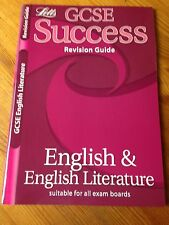 LETTS GCSE REVISION GUIDE - ENGLISH & ENGLISH LITERATURE (NEW)