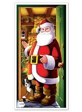 Christmas HELLO SANTA! DOOR COVER Party Decoration PHOTO BOOTH PROP