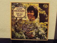 CLIFF RICHARD & THE SHADOWS - All my love