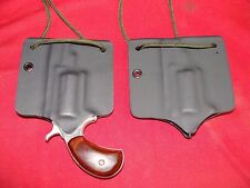 NAA QUICK PULL NECK HOLSTER WITH SNAP LOCK FEATURE FOR NAA 22LR