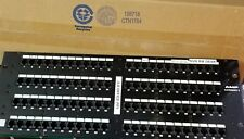 Tyco Amp Netconnect Systems 96 Port Cat 5 Patch Panel -