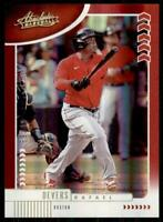 2020 Absolute Spectrum Base Red #67 Rafael Devers /99 - Boston Red Sox