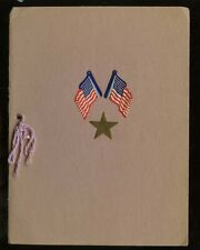 US 1937 Patriotic Gold Star Mothers' Tea Program - Hand Made