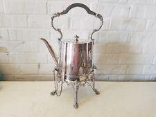 Antique Sheffield Richard Richardson English Silver Plate Tilting Teapot