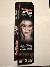 *Lady Gaga AUTOGRAPHED Signed Singing Toothbrush-NEW*