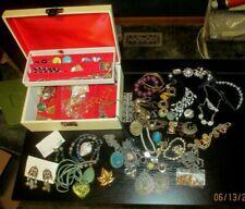 Vintage Buxton Jewelry Box ~Velvet Lined~FULL