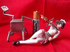 "Ghost in the shell Robot Maid & Jameson Figure RARE Length 4"" 10cm / UK DESPATCH"