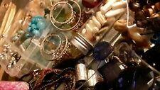 Huge bead & jewelry lot