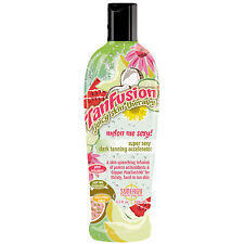TanFusion Juicy Skin Therapy Synergy MELON ME SEXY dark tanning cream 250ml
