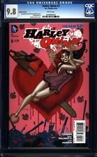 Harley Quinn 3 CGC 9.8 WP 2nd Printing Modern Age DC Comic (2014) IGKC L@@K
