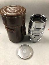 Asahi-Kogaku 135mm F/3.5 Tele-Takumar M37 Screwmount Lens for Asahiflex 80%