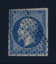 Timbres français oblitérés d'avant 1900 à roulette