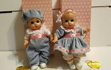 EFFANBEE PATSY BABYETTE TWIN COMPO DOLLS BOY GIRL with Boxes Charm