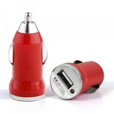 Chargeur Voiture Allume-Cigare USB 1A Rouge pour Archos: 50e Helium, 50d Helium