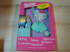 BARBIE VINTAGE - MY FIRST/HABILLAGE/FASHIONS - REF: 3414 - MATTEL 1992 - NEUF -