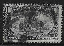 US Scott #290, Single 1898 Trans-Mississippi 10c FVF Used
