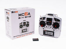 Microzone MC6A 2.4GHz 6 Channel Radio Control RC Transmitter and Receiver Set