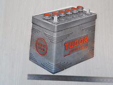 Depliant originale '60 batterie Tudor per Lancia Flaminia Aurelia Alfa 1900 etc