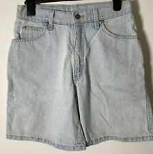 Vintage Levis Mens 950 Light Blue Denim Shorts W28 Inch