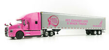 First Gear 59-3423 Mack Anthem Sleeper Truck The Pink Lady with 53' Trailer 1:50