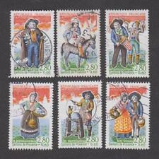 France -Timbres oblitérés - Santons de Provence - N° 2976 à 2981 - 1995 -TB